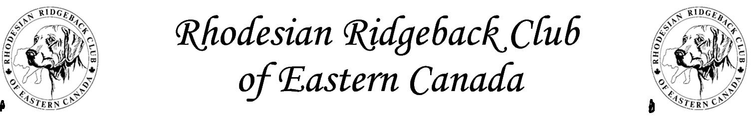 Rhodesian Ridgeback Club of Eastern Canada
